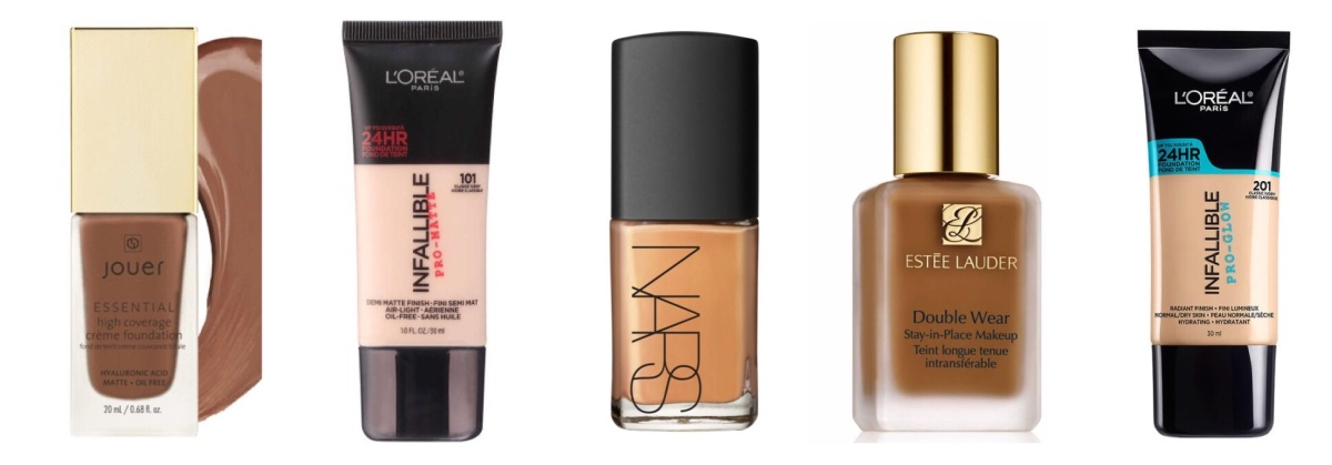 Five Days of Foundation: Best Foundations for Different Skin Types